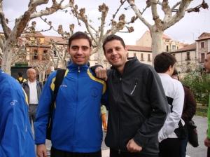 En Alcalá con David